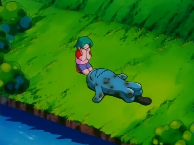 Annie had a Wobbuffet, who was the first to be attacked by the thugs.