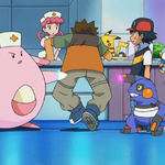 Nurse Joy Chansey Pound.png