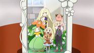 릴리에의 가족사진