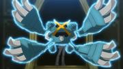 Steven Mega Metagross anime trailer