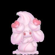 869Alcremie Ruby Cream Love Sweet Pokémon HOME