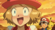 Serena Blushing