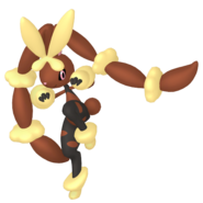 428Lopunny Mega Pokémon HOME