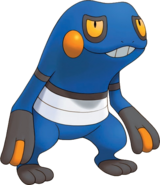 453Croagunk Pokemon Mystery Dungeon Explorers of Time and Darkness