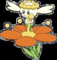 669Flabébé Orange Flower XY anime