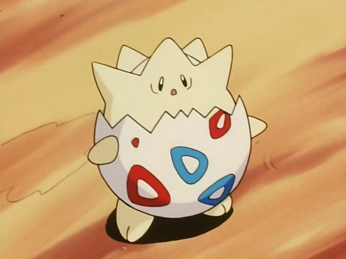 After finding Misty's Togepi badly injured in the garden fountain after being separated from Misty, Sara took it upon herself to nurse Togepi back to health under the belief it was the Togepi destined for her to assume the throne after her parents. When the truth is revealed, Sara returns Togepi to Misty.