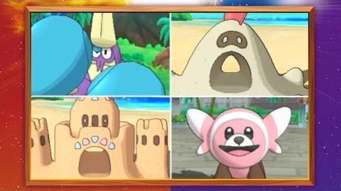 Nieuwe Pokémon zijn gereed voor avontuur in Pokémon Sun en Pokémon Moon!
