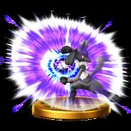 루카리오(EX) 피규어 Wii U
