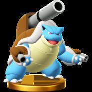 Mega Blastoise trophy SSBWU