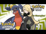 Pokemon Diamond-Pearl-Platinum - Battle! Champion Cynthia Music (HQ)