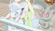 Snowy and Magearna