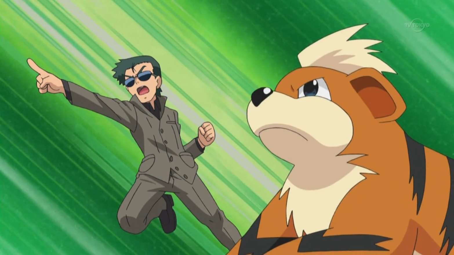 Tedesco sent Growlithe to defeat Vanillite, who attempted to attack.
