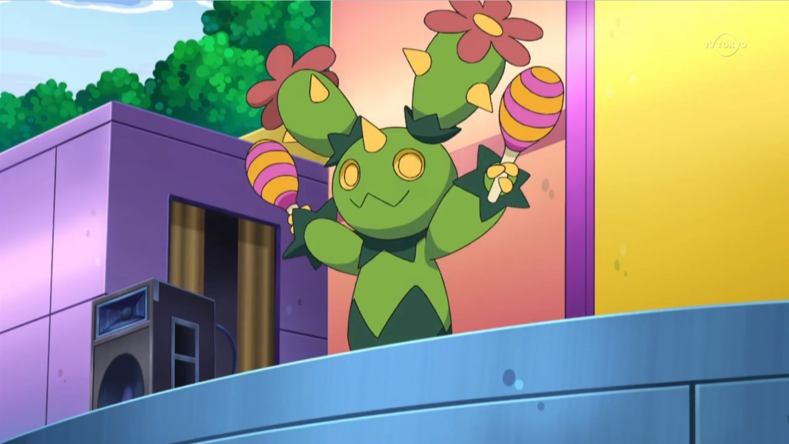 Marra is one of Toby's Maractus, who was used to perform in musicals.