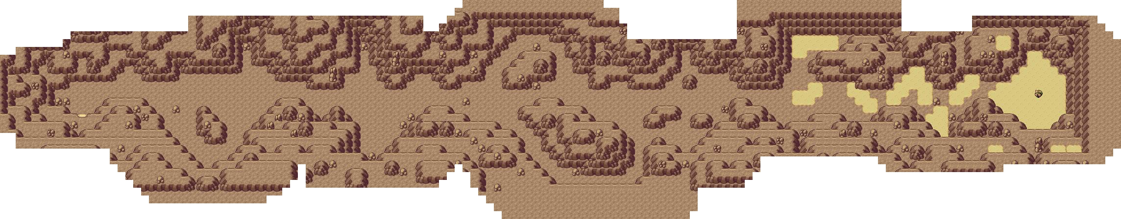 사막의 지하도