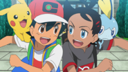 Ash and Goh