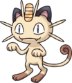 052Meowth Pokemon Mystery Dungeon Red and Blue Rescue Teams