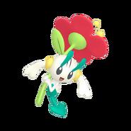 670Floette Red Flower Pokémon HOME