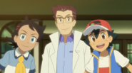 Goh, Professor Cerise and Ash