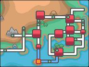 HGSS 홍련마을 맵