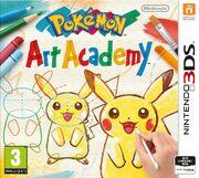 Pokémon Art Academy European Boxart