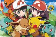 Pokemon Starters (Let's Go)