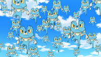 Ash Froakie Double Team