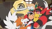 Ash Pokémon reunited