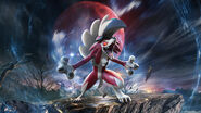Lycanroc (Midnight) Sun and Moon Guardians Rising