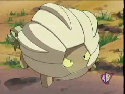 Michelle was accompanied by a Shelgon, who evolved from a Bagon and wanted to fly.