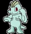 066Machop OS anime