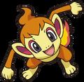 390Chimchar DP anime 8
