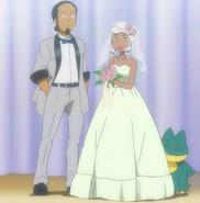 Proffesor Kukui and Burnets wedding