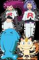 Team Rocket trio SM