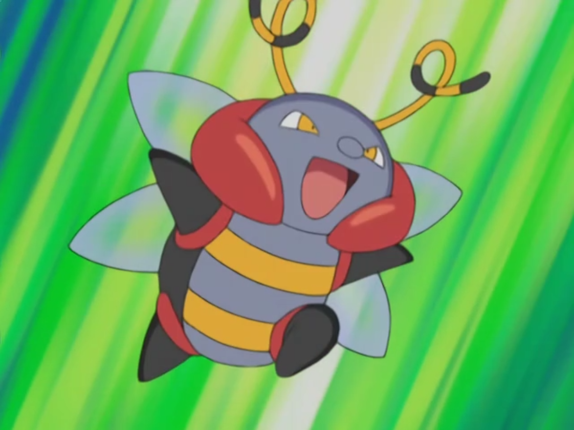 Volt sent his Volbeat during the first round of the PokéRinger tournament.