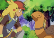Ash and Torkoal