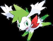 492Shaymin (Sky) Pokemon Platinum Flower Paradise