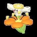 669Flabébé Orange Flower Pokémon HOME