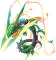 Mega Rayquaza Pokken Tournament DX