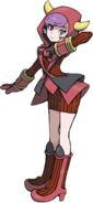 Courtney Omega Ruby and Alpha Sapphire