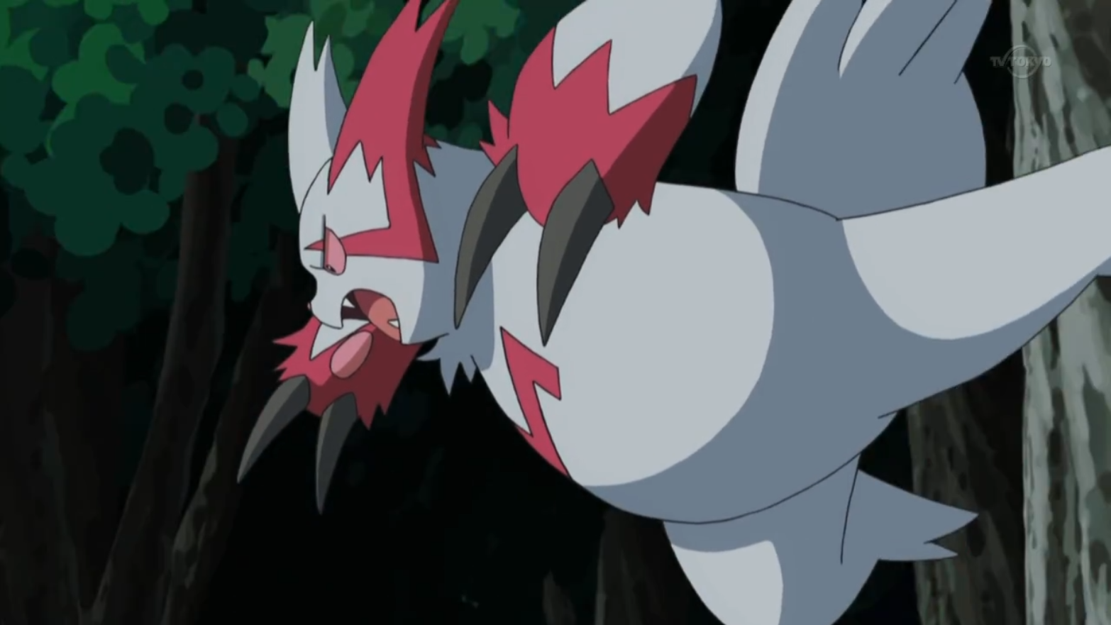 Weiss chased N with his Zangoose.