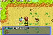 Pokémon Red Rescue Team Battle Gameplay