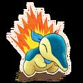 155Cyndaquil Pokémon Mystery Dungeon Rescue Team DX