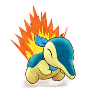 155Cyndaquil Pokémon Mystery Dungeon Rescue Team DX