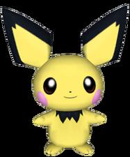 172Pichu Pokémon PokéPark