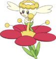 669Flabébé Red Flower XY anime