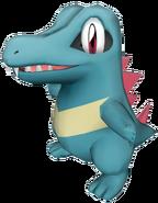 158Totodile Pokémon PokéPark