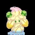 869Alcremie Rainbow Swirl Clover Sweet Pokémon HOME