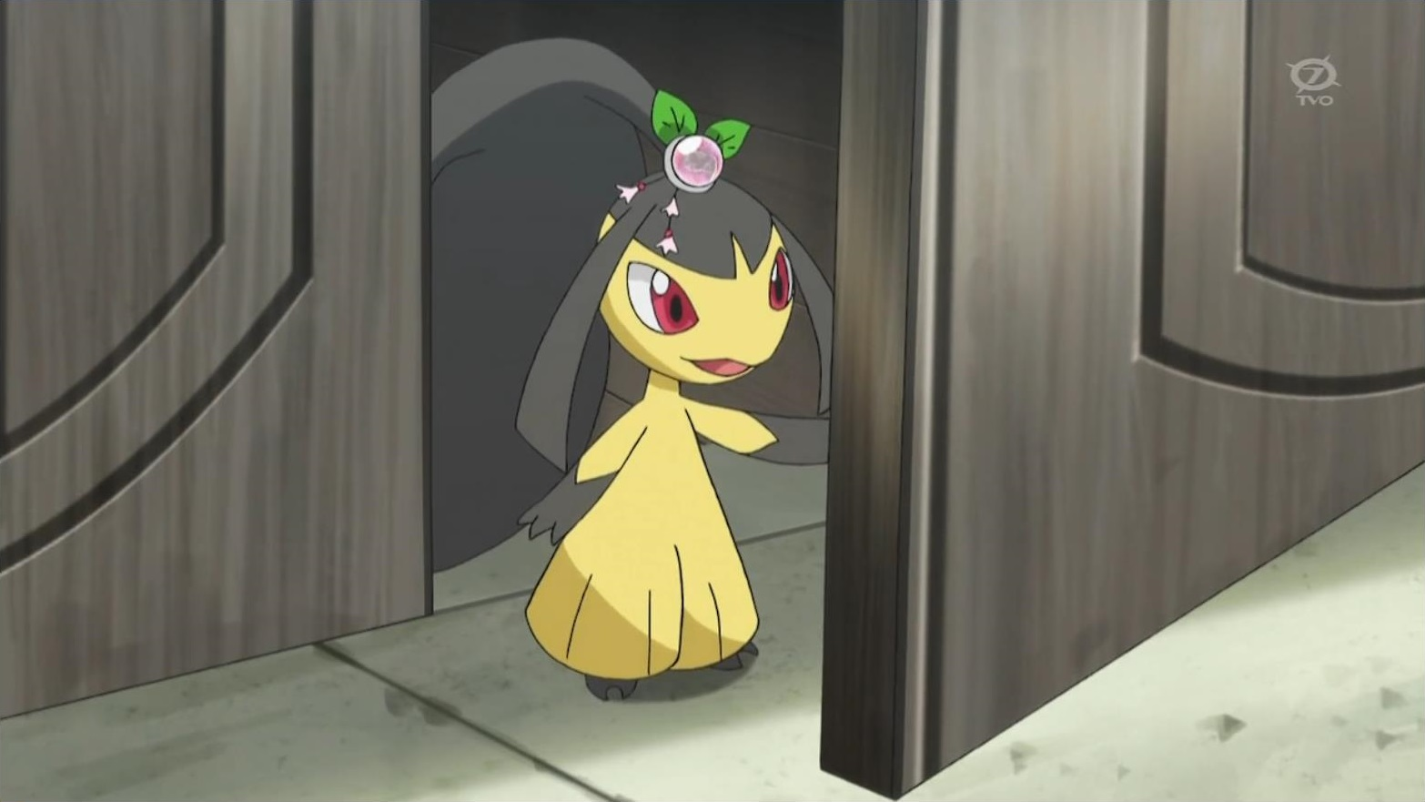 Mabel had a Mawile, who had the power to Mega Evolve. Mawile battled Korrina's Mega Lucario, and, later, Team Rocket as well.