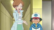 Ash and Professor Juniper
