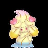 869Alcremie Rainbow Swirl Love Sweet Pokémon HOME